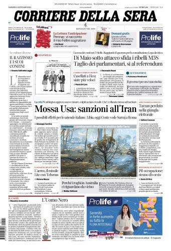 Corriere della Sera - 11 01 (2020)