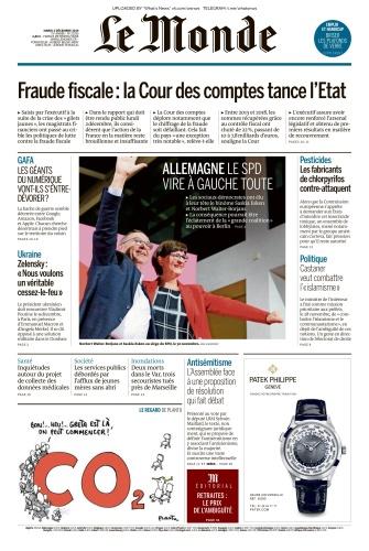 Le Monde - 03 12 (2019)