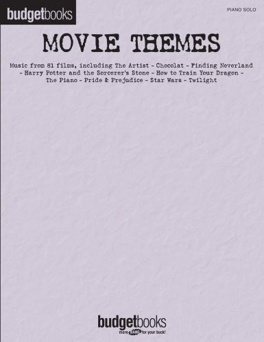 Hal Leonard Movie Themes Budget Books (2019)