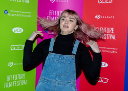 Maisie Williams - BFI Future Film Festival at BFI Southbank in London 02/23/2019