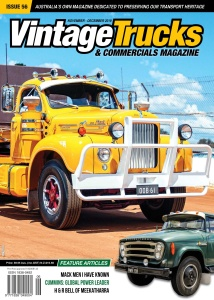 Vintage Trucks & Commercials - November-December (2019)