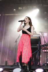 Lauren Mayberry - Jimmy Kimmel Live: August 14th 2018