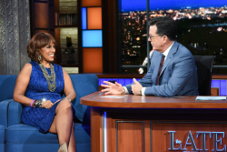 Gayle King - The Late Show with Stephen Colbert: May 9th 2018