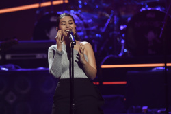Alessia Cara - Elton John: I'm Still Standing - A Grammy Salute @ the Theater at Madison Square Garden in NYC - 01/30/18