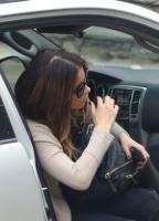 Kate Beckinsale - arriving back at her home in LA 3/19/19