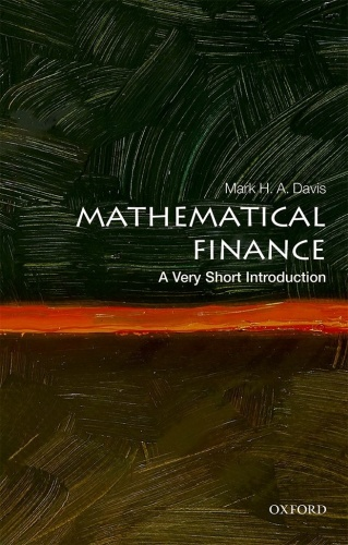 Mathematical Finance  A Very Short Introduction