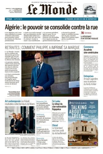 Le Monde - 15 12 2019 - 16 12 (2019)