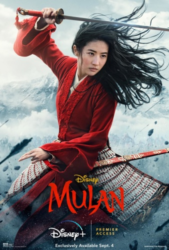 Mulan (2020) 1080p WEB-DL H264 DD5 1 [Multi Audio][Hindi+Telugu+Tamil+English] -DUS