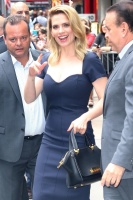 Hayley Atwell - arriving at Good Morning America in NYC 7/24/18