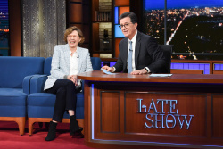 Annette Bening - The Late Show with Stephen Colbert: February 21st 2019