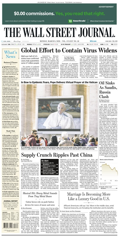 The Wall Street Journal - 09 03 (2020)
