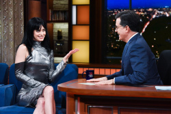 Krysten Ritter - The Late Show with Stephen Colbert: March 1st 2018