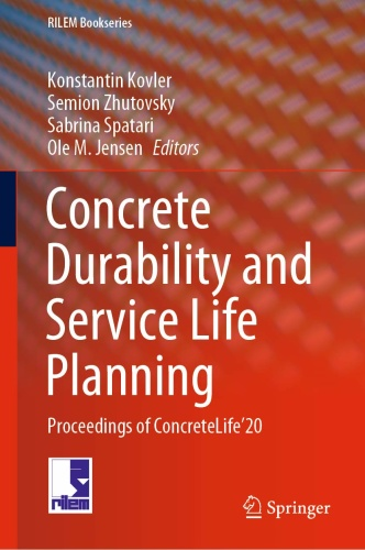 Concrete Durability and Service Life Planning   Proceedings of ConcreteLife ' 20