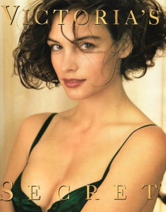 Famke Janssen -               Victoria's Secret October/November (1990).