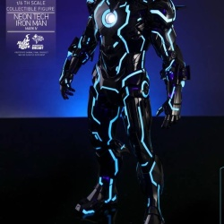 "Iron Man 2 - Mark IV Neon Tech ""Toy Flair Exclusive 2018"" 1/6 (Hot Toys) 0YLGoFbS_t"