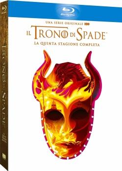 Il Trono Di Spade - Stagione 5 (2015) 4 Full Blu Ray DD 5.1