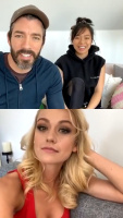 Katherine McNamara - Instagram Live 23/5/2020