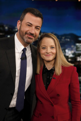 Jodie Foster - Jimmy Kimmel Live: June 4th 2018