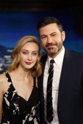 Sarah Gadon - Jimmy Kimmel Live: November 14th 2017