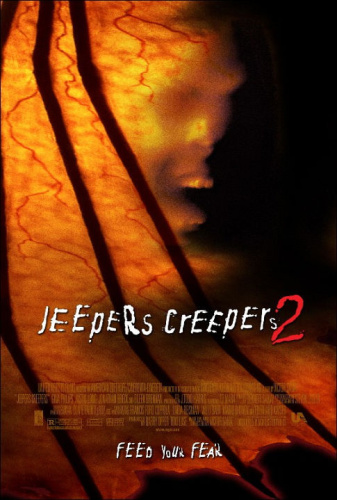 Jeepers Creepers 2 2003 BluRay Dual Audio Hindi 2 0 + English 5 1 720p x264 AAC ESub