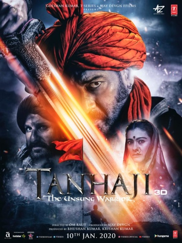 Tanhaji The Unsung Warrior 2019 HINDI 720p HDCAM 900MB x264 AAC-BOLLYROCKERS