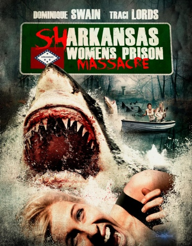 Sharkansas Women's Prison Massacre (2015) 720p BluRay x264 ESubs [Dual Audio][Hindi+English]