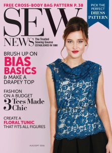 Sew News - August-September (2016)