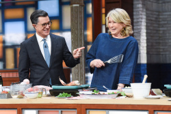 Martha Stewart - The Late Show with Stephen Colbert: March 26th 2019