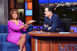 Gayle King - The Late Show with Stephen Colbert: October 25th 2018