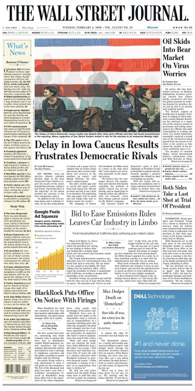 The Wall St Journal 04Feb(2020)