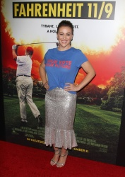 Alyssa Milano - Fahrenheit 11/9 Los Angeles Premiere at Samuel Goldwyn Theater 9/19/18