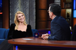Claire Danes - The Late Show with Stephen Colbert: February 5th 2018