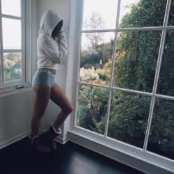 Ashley Tisdale in Shorts - 11/18/17