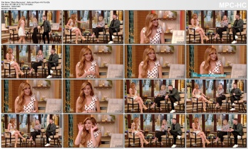 Maria Menounos 'legs & cleavage'- Kelly & Ryan 4-9-19 (V/C)