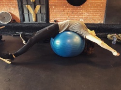 Alexandra Daddario at the Gym - 1/19/19 Instagram