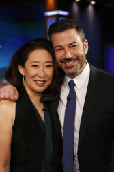 Sandra Oh - Jimmy Kimmel Live: April 12th 2018