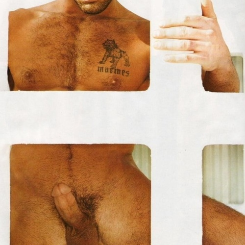 Hot latino nude men