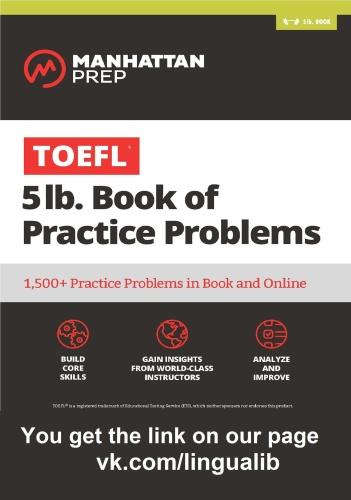 TOEFL lb Book of TOEFL Practice Problems Book Online FINAL  facebook com LinguaL