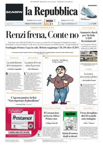 la Repubblica - 15 02 (2020)
