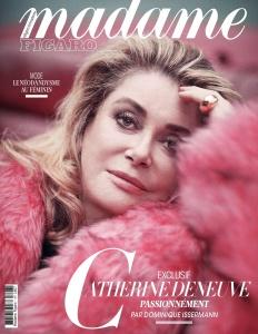 Catherine Deneuve -        Madame Figaro Magazine (France) April 12th 2019.