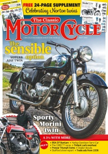 The Classic MotorCycle  July (2018)