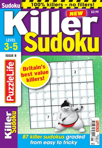 PuzzleLife Killer Sudoku - Issue 8 - February (2020)