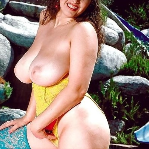 Beautiful naked large breasted women