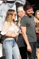 Hilary Duff - at the Farmer's Market in LA 11/26/17