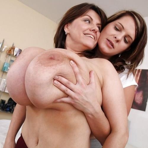 Big natural boobs lesbian