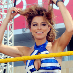 Maria Menounos WWE Summerslam in LA Aug '13 50+HQ's