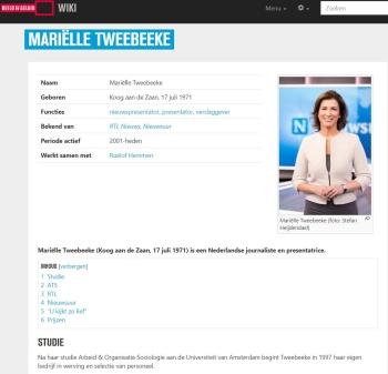 Foto van Mariëlle Tweebeeke (3054771)