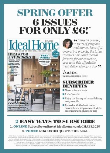 Ideal Home UK - April (2020)