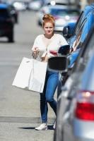Ariel Winter - leaving Big Sugar Bakery in Studio City, CA 6/30/19
