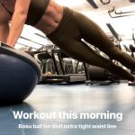 Nina Agdal - Workout 24/4/2019